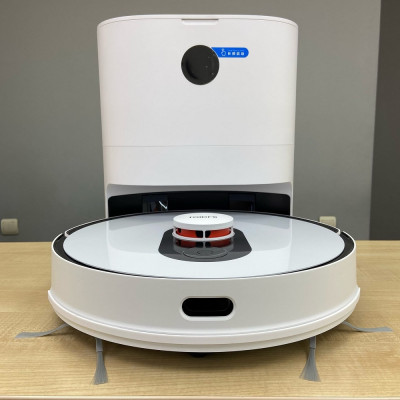 Робот-пылесос Roidmi EVE Plus Robot Vacuum and Mop Cleaner with Cleaning Base